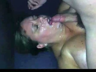 Wife Gets Messy Facial
