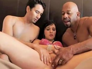 Hubby Watches Her Worship The Big Black Cock