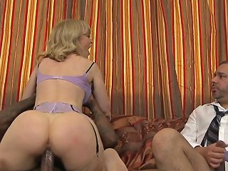 Mature Amateur Ir Fucked In Front Of Hubby