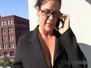 Cheating Wife Tests Her Pussy With Two Black Men